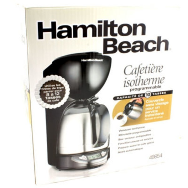 Hamilton Beach 10 Cup Programmable Coffee Maker