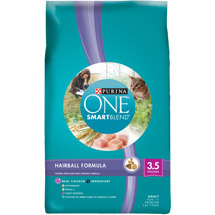 Purina ONE SmartBlend Dry Cat Food Hairball Formula