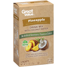 Great Value Pineapple Drink Mix