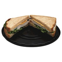 Hill Country Fare Deli Style Turkey And Cheddar Cheese Sandwich On Wheat Bread