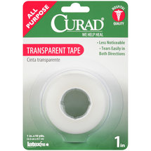 Curad Transparent Tape Roll