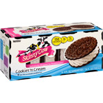Skinny Cow Cookies N Cream Ice Cream Sandwiches