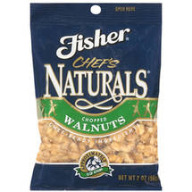 Fisher Chefs Naturals Chopped Walnuts