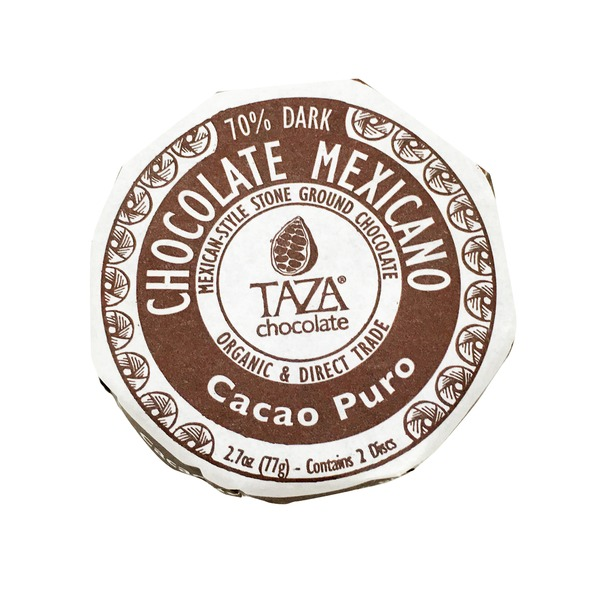 Taza Chocolate Cacao Puro 70% Pure Dark