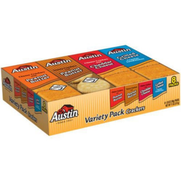 Austin Variety Pack Cracker Sandwiches