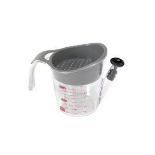 Good Cook Pro 2 Cup Fat Separator With Stopper