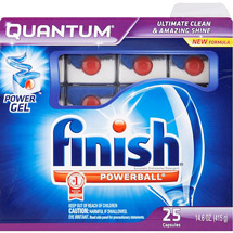 Finish Quantum Dishwasher Detergent Fresh Scent