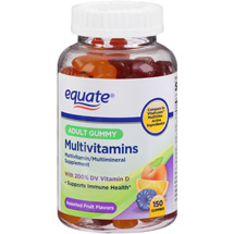 Equate Adult Gummy Multivitamins