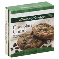 Central Market Chocolate Chunk Refrigerated Cookie Dough