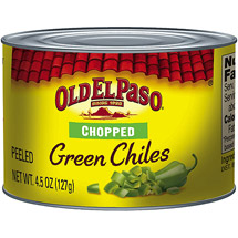 Old El Paso Chopped Green Chiles