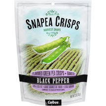 Snapea Crisps Black Pepper