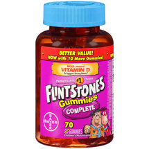 Flintstones Gummies Complete Children's Multivitamin Supplement Gummies