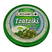 Cedar All Natural Artichoke & Spinach Tzatziki Greek Strained Yogurt Dip