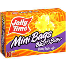 Jolly Time Blast O Butter Mini Bags Microwave Popcorn