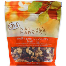 Nature's Harvest Nutty Peanut Buttery Trail Mix