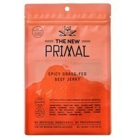 The New Primal Beef Jerky, Grass-Fed, Spicy