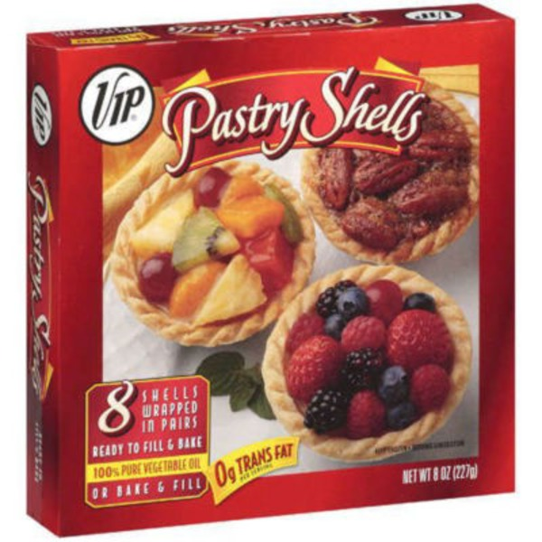 VIP Pastry Shells - 8 CT