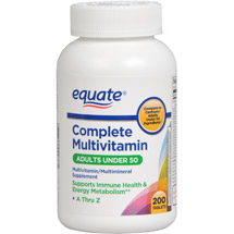 Equate Complete Multivitamin Dietary Supplement