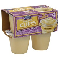 Hill Country Fare Pudding Cups Banana Made With Real Skim Milk
