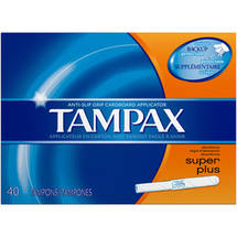 Tampax Pearl Tampons Super Plus Scented