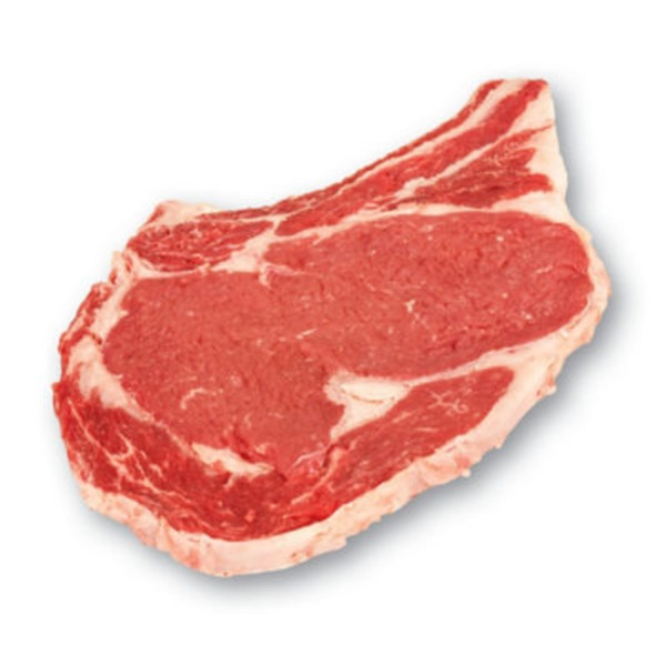 H-E-B Usda Select Bone In Thin Beef Ribeye Steak