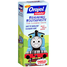 Orajel Toddler Training Thomas Toothpaste