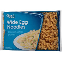 Great Value Wide Egg Noodles
