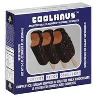 CoolHaus Ice Cream Bars, Coffee Peter Cook-Ies