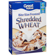 Great Value Frosted Shredded Wheat Cereal