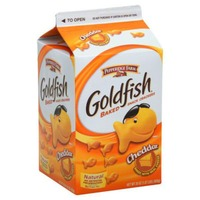 Pepperidge Farm Goldfish Cheddar Blue vs White Games Baked Snack Crackers