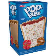 Kellogg's Pop-Tarts Frosted Strawberry & Frosted Brown Sugar Cinnamon Toaster Pastries