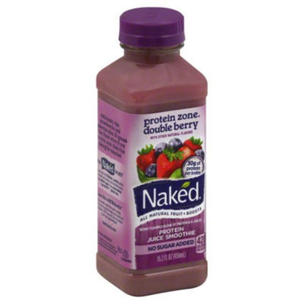 Naked Juice Protein Double Berry Chilled Juice