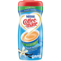 Nestle Coffee Mate French Vanilla Sugar Free Coffee Creamer