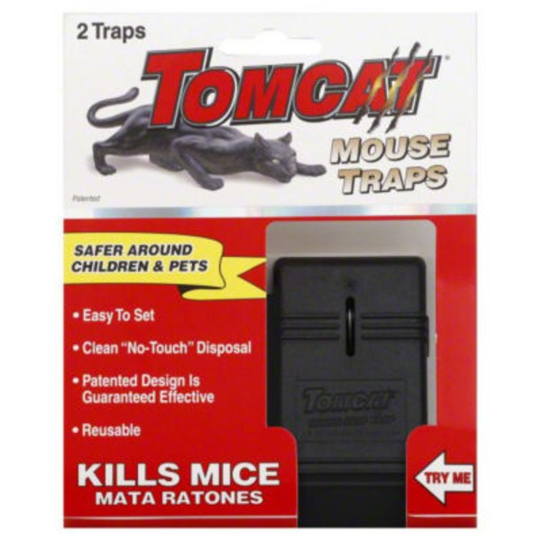 Tomcat Mouse Traps - 2 CT