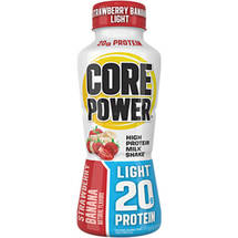 Core Power Strawberry Banana Light High Protein Milk Shake