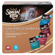 Special Kitty Variety Pack Wet Cat Food 24-Pack