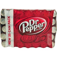Dr. Pepper Soda 35 Pack