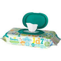 Pampers Natural Clean Baby Wipes Refills