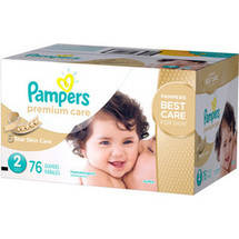 Pampers Premium Care Disposable Diapers Super PackSize 2