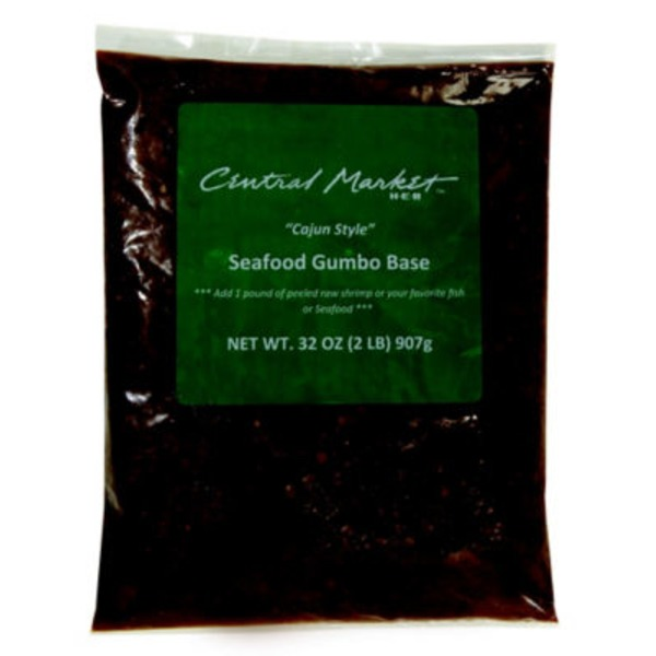 Central Market Cajun Style Seafood Gumbo Base