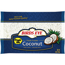 Birds Eye Tropic Isle Fresh Frozen Coconut