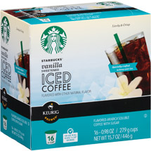 Starbucks Sweetened Vanilla Iced Coffee K-Cups