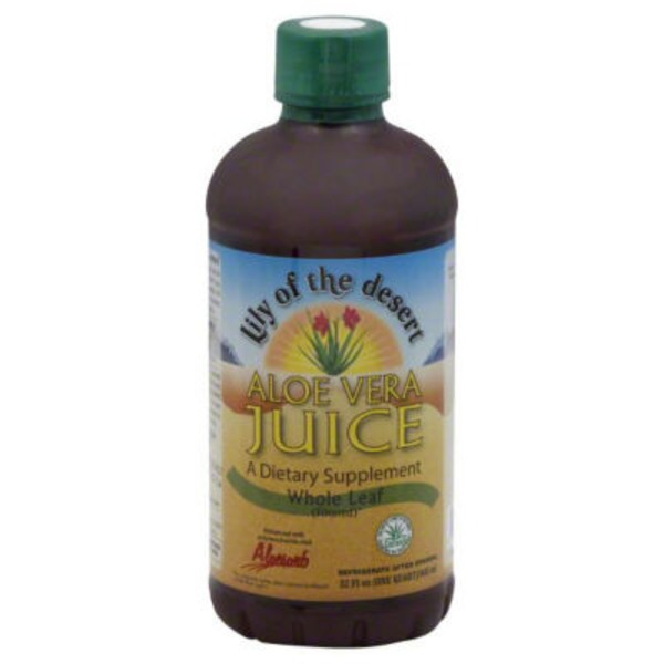 Lily of the Desert Aloe Vera Juice Whole Leaf Dietary Supplement