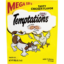 Whiskas Temptations Mega Chicken Cat Treat
