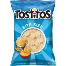 Tostitos Bite Size White Corn Tortilla Chips