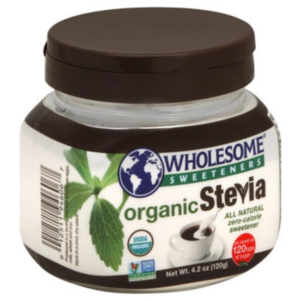 Wholesome Sweeteners Organic Stevia All Natural Zero-Calorie Sweetener