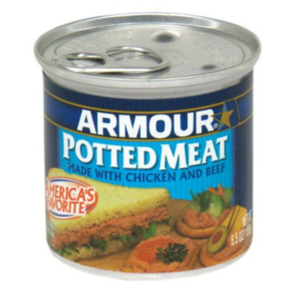 Armour With Chicken & Beef Potted Meat