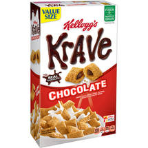 Kellogg's Krave Chocolate Cereal Family Size