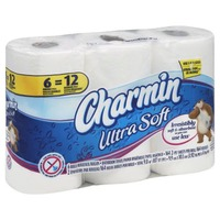Charmin Ultra Soft Bathroom Tissue, Double Rolls