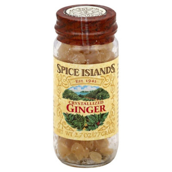 Spice Islands Crystallized Ginger